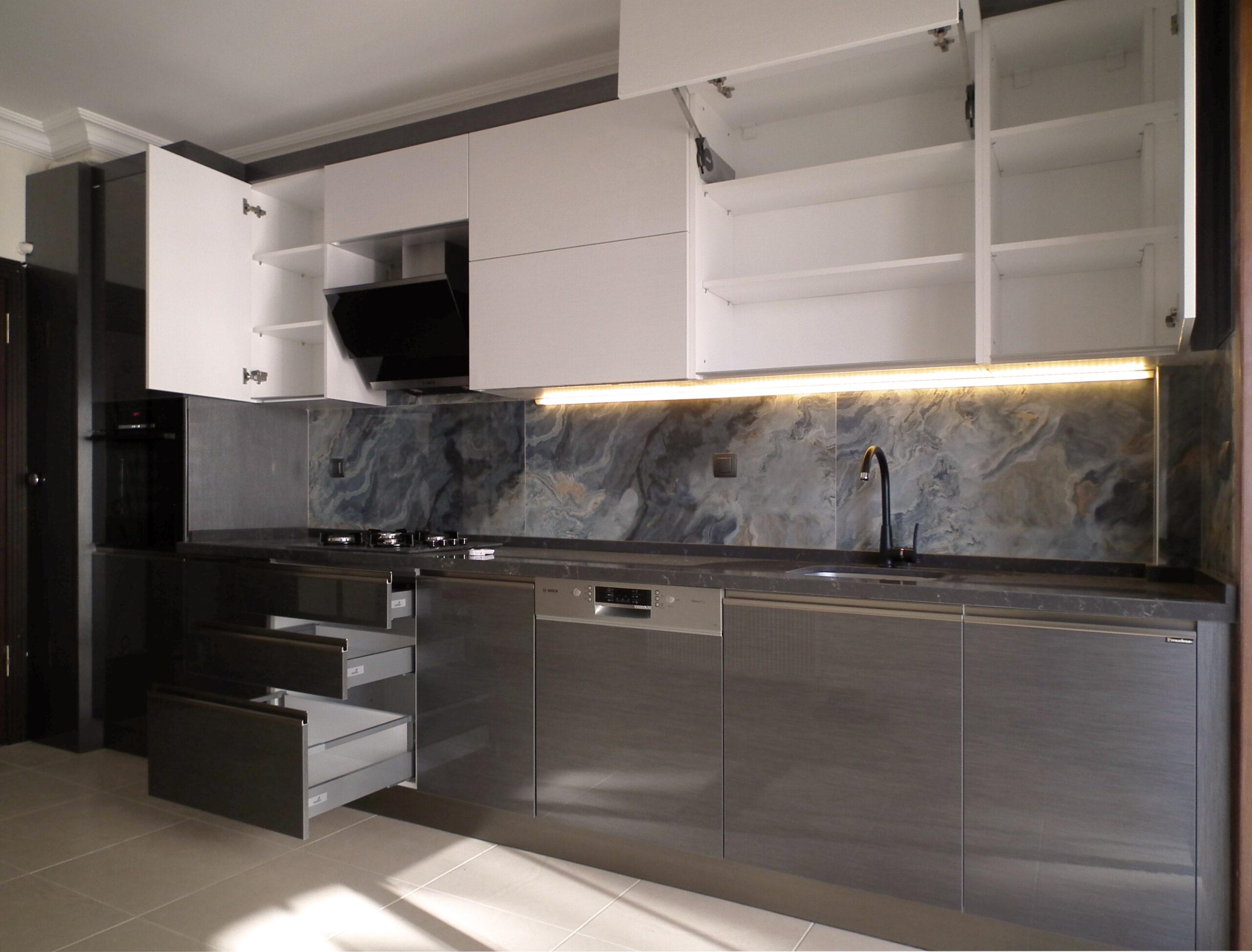 Ankara High Gloss Mutfak Dolabı