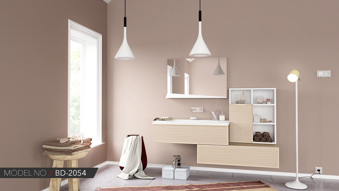 Modern Banyo Dolabı Modeli Ankara