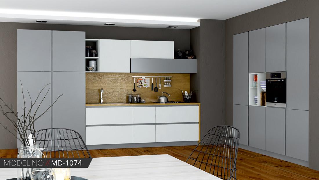 Akrilik beyaz mutfak dolabı modelleri Ankara