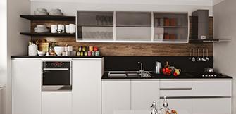 Akrilik mutfak dolabı beyaz