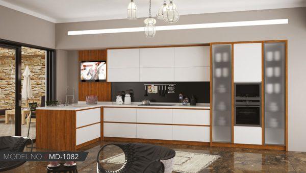 Akrilik mutfak dolabı modeli Ankara