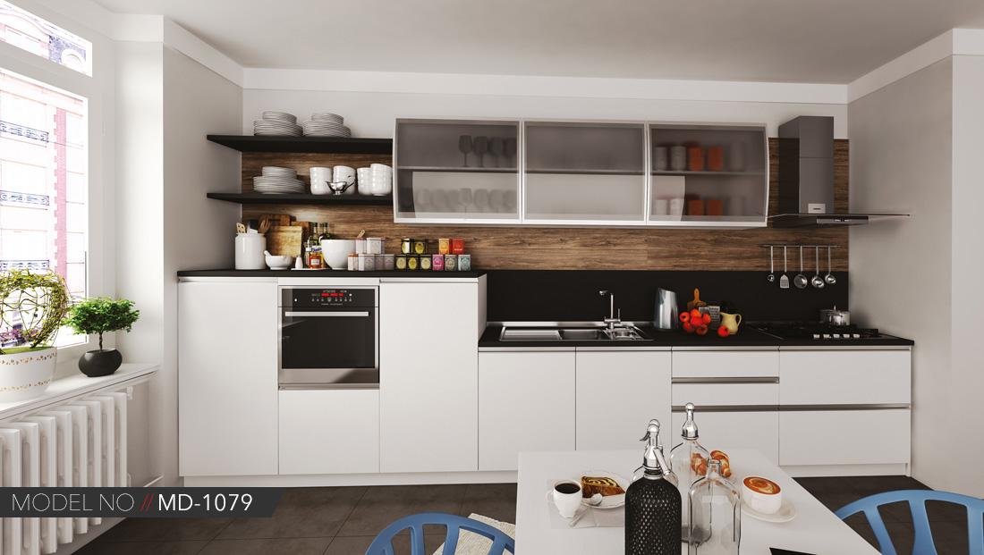 Akrilik beyaz mutfak dolap modelleri Ankara